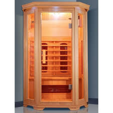 Infrared sauna for 2 persons