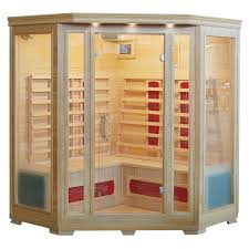 Infrared sauna for 4 persons